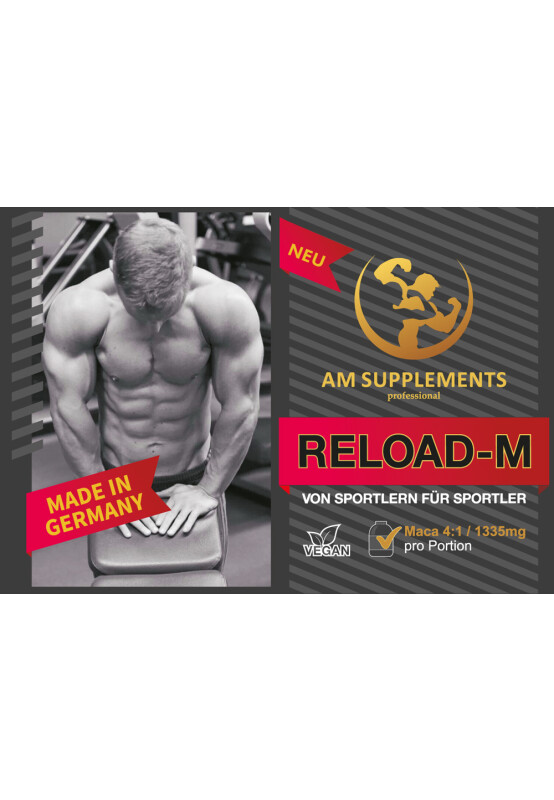 AM RELOAD-M TESTOBOOSTER