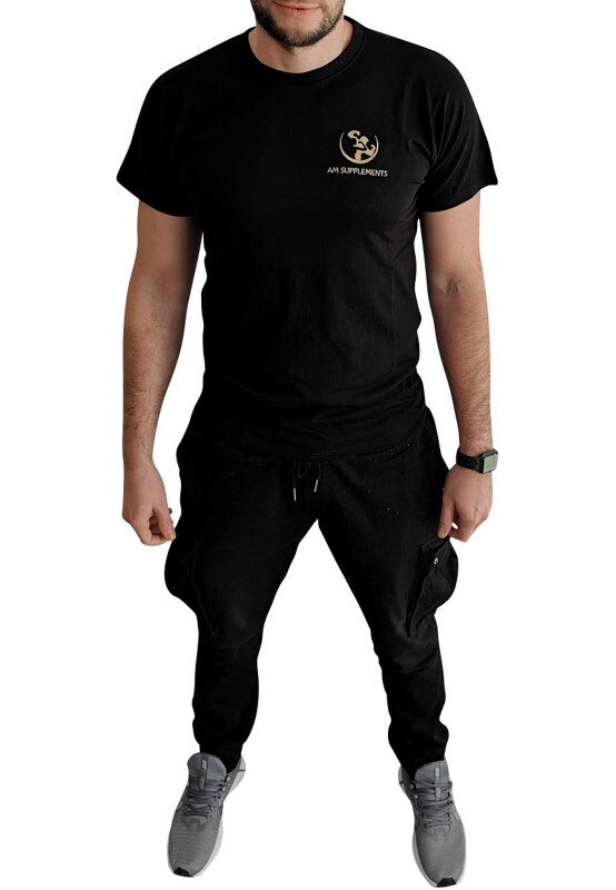 AM SUPPLEMENTS - Mens Premium T-Shirt M